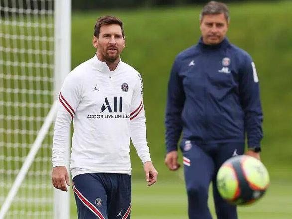 Messi thích nghi tốt nhưng vẫn chưa thể ra sân cho PSG - Ảnh 1.