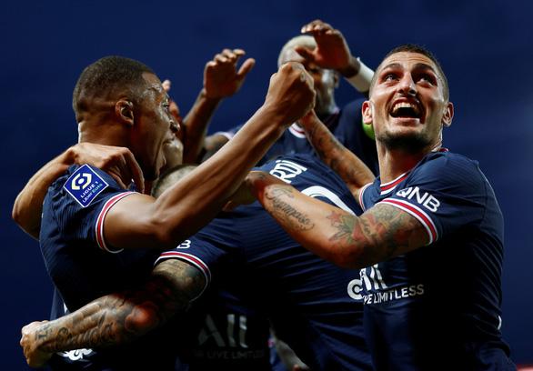 Messi chưa ra mắt, PSG trận thứ hai liên tiếp ghi 4 bàn vào lưới đối thủ - Ảnh 1.