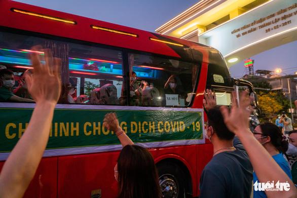 1.500 giảng viên, sinh viên Trường CĐ Y tế Bạch Mai lên đường chi viện TP.HCM - Ảnh 10.