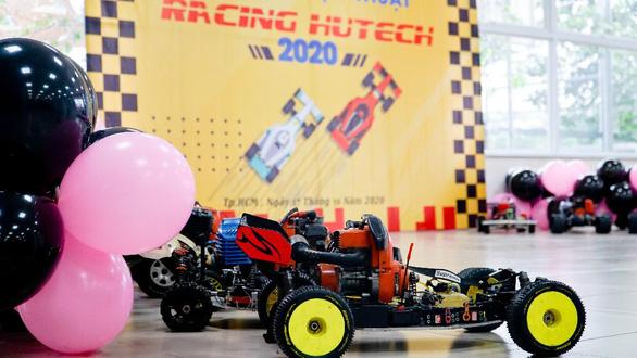 Loạt giảng đường thú vị của sinh viên Công nghệ kỹ thuật ô tô HUTECH - Ảnh 3.