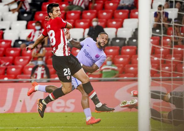 Barca nhọc nhằn chia điểm với Athletic Bilbao - Ảnh 3.