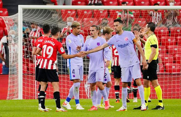 Barca nhọc nhằn chia điểm với Athletic Bilbao - Ảnh 1.