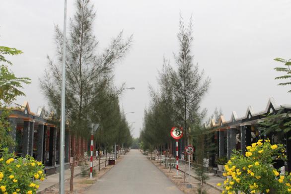 Nghĩa trang Đa Phước giai đoạn 2 bắt đầu hoạt động - Ảnh 1.