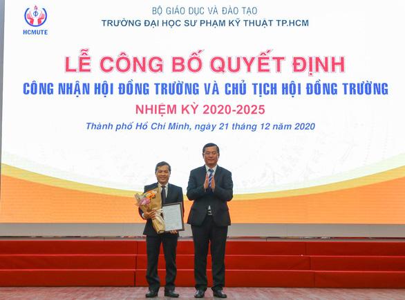 Yêu cầu xem xét trách nhiệm chủ tịch hội đồng trường ĐH Sư phạm kỹ thuật TP.HCM - Ảnh 1.