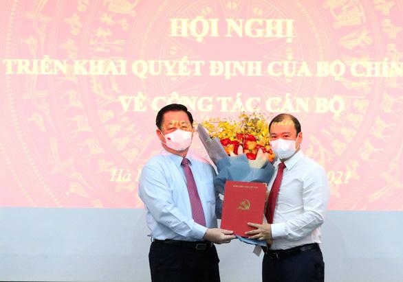 Trao quyết định bổ nhiệm ông Lê Hải Bình làm phó trưởng Ban Tuyên giáo trung ương - Ảnh 1.