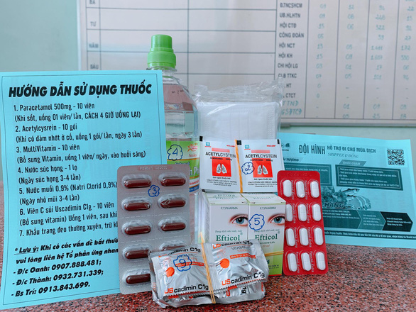 Sở Y tế TP.HCM giao Bệnh viện Nhi đồng 1 mua 100.000 túi thuốc điều trị F0 tại nhà - Ảnh 1.
