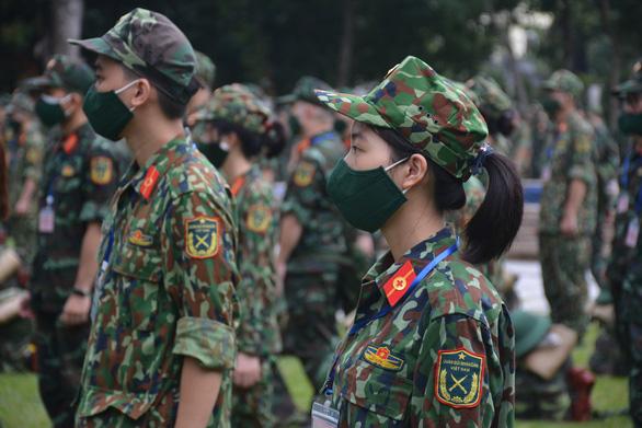 Thêm 1.100 bác sĩ, điều dưỡng, học viên Học viện quân y đến TP.HCM chống dịch - Ảnh 3.