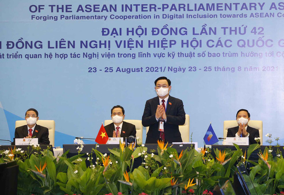 Áp dụng công nghệ số tăng cường hợp tác liên nghị viện ASEAN - Ảnh 1.