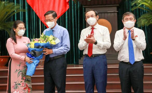 Tân Chủ tịch TP.HCM Phan Văn Mãi: Tập trung cải thiện tình hình, tiến đến kiểm soát dịch COVID-19 - Ảnh 1.