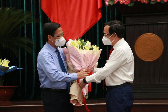 Tân Chủ tịch TP.HCM Phan Văn Mãi: Tập trung cải thiện tình hình, tiến đến kiểm soát dịch COVID-19 - Ảnh 2.