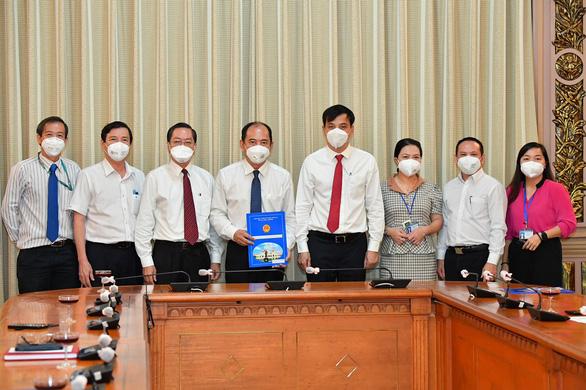 Bổ nhiệm ông Tăng Chí Thượng làm giám đốc Sở Y tế TP.HCM - Ảnh 1.