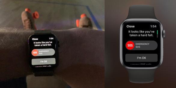 Apple Watch cứu sống một người đàn ông ngã bất tỉnh - Ảnh 1.
