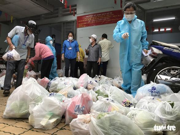 1/5 số hộ dân có nhu cầu tại TP.HCM được đi chợ giúp mỗi ngày - Ảnh 1.