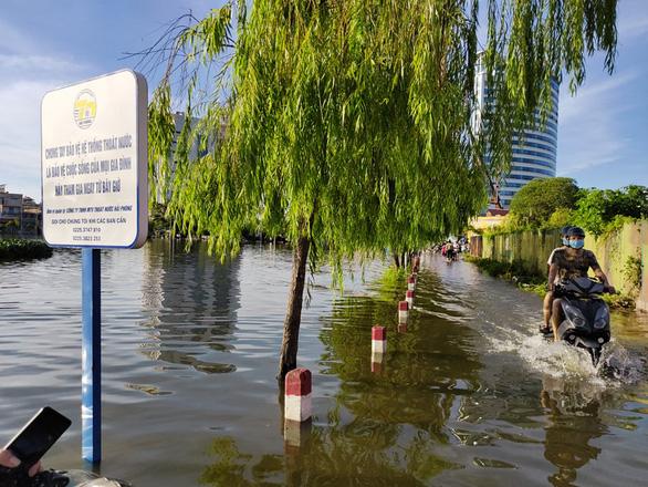 Hai chị em chết đuối sau trận mưa gây ngập lụt - Ảnh 1.