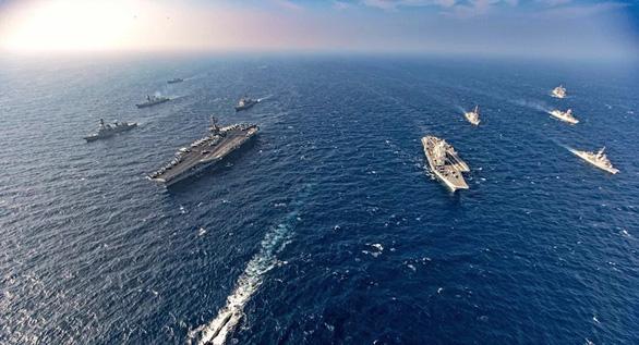 Hải quân Mỹ - Nhật - Ấn - Úc khởi động tập trận 4 ngày ngoài khơi đảo Guam - Ảnh 2.