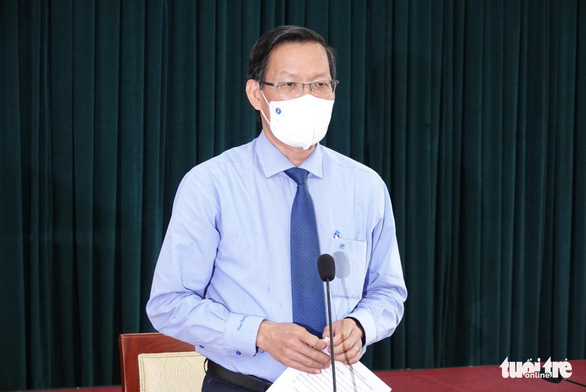 Chủ tịch UBND TP.HCM Phan Văn Mãi: 3 ngày giãn cách triệt để, TP đã đạt được kết quả nhất định - Ảnh 1.