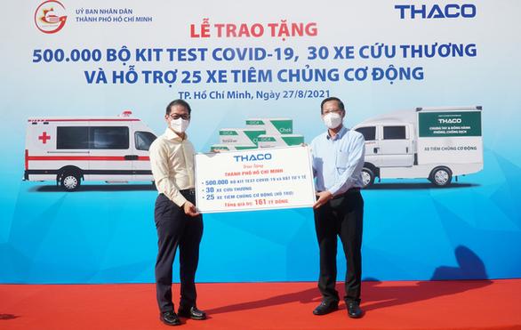 Tỉ phú Trần Bá Dương chi 800 tỉ đồng hỗ trợ chống dịch - Ảnh 1.