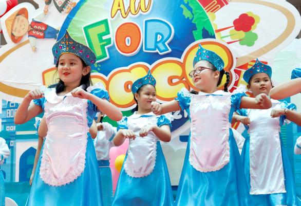 Môi trường quốc tế giúp học sinh tự tin hội nhập toàn cầu - Ảnh 1.