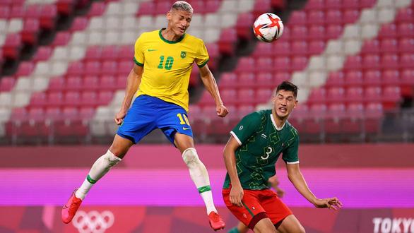 Đánh bại Mexico trên chấm luân lưu, Brazil vào chung kết Olympic Tokyo - Ảnh 2.