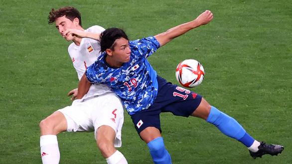 Hạ Nhật Bản, Tây Ban Nha tranh HCV Olympic 2020 với Brazil - Ảnh 1.