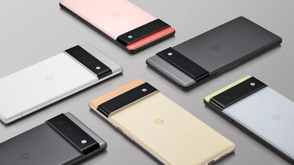 Google ra mắt điện thoại Pixel 6 với chip tự phát triển - Ảnh 1.