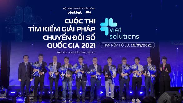 Gia hạn nộp hồ sơ giải thưởng Viet Solutions do dịch bệnh - Ảnh 1.