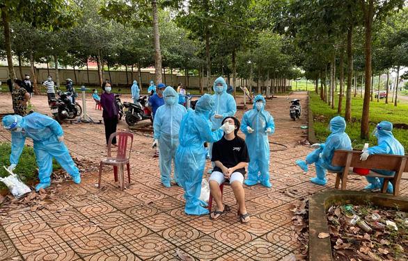 Bình Phước: Giãn cách xã hội thêm 7 ngày tại huyện Lộc Ninh, nhiều biện pháp tăng cường - Ảnh 1.