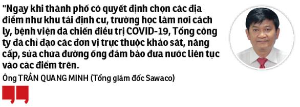 Tổng công ty Cấp nước Sài Gòn: Đảm bảo nước sạch cho người dân thành phố - Ảnh 3.