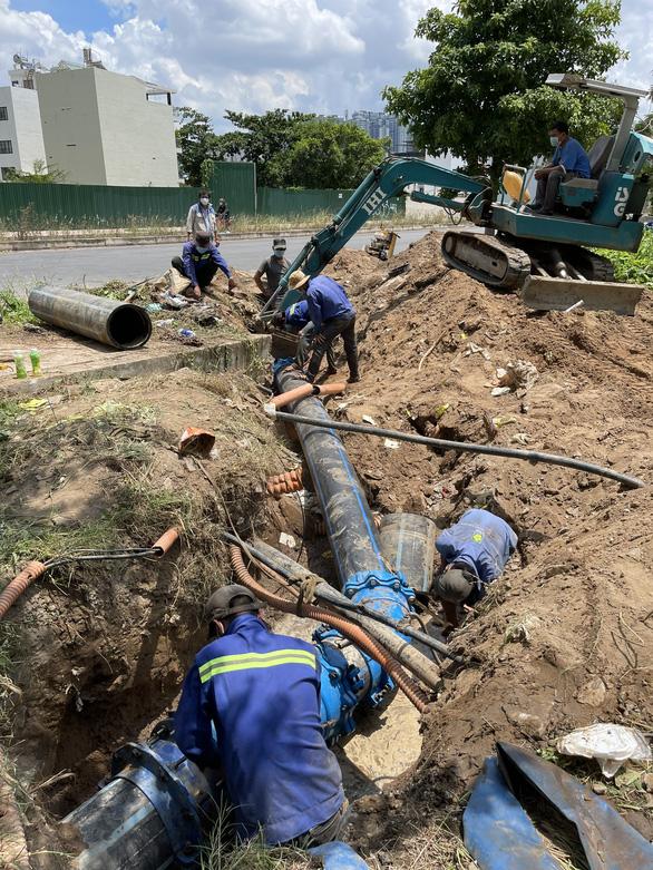 Tổng công ty Cấp nước Sài Gòn: Đảm bảo nước sạch cho người dân thành phố - Ảnh 1.