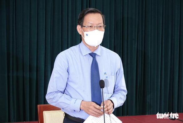 Bí thư Nguyễn Văn Nên: Tỉ lệ lây lan cộng đồng trong tầm có thể kiểm soát - Ảnh 2.