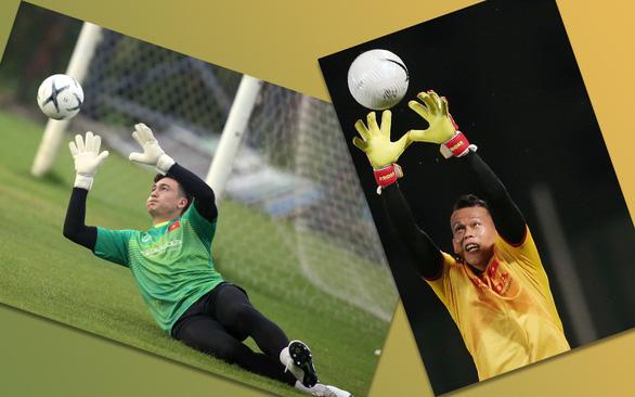 Tuyển Việt Nam trước vòng loại cuối cùng World Cup 2022: Ai sẽ là thủ môn số 1? - Ảnh 1.