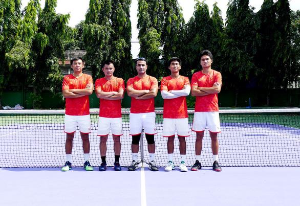 Tuyển quần vợt Việt Nam chịu thiệt ở Davis Cup vì COVID-19 - Ảnh 1.