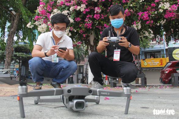 Đà Nẵng bắt đầu xử phạt từ hình ảnh flycam - Ảnh 1.