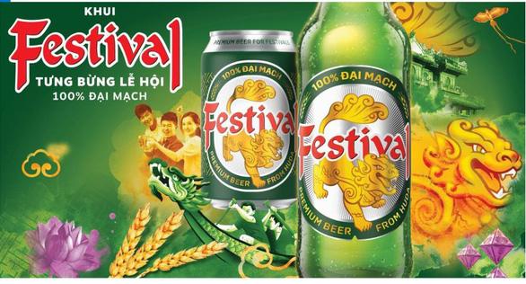 Bia Festival lan tỏa tinh thần gắn kết yêu thương - Ảnh 1.