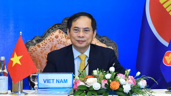 Mỹ cam kết vắc xin COVID-19, nêu vấn đề Biển Đông tại cuộc họp với ASEAN - Ảnh 1.