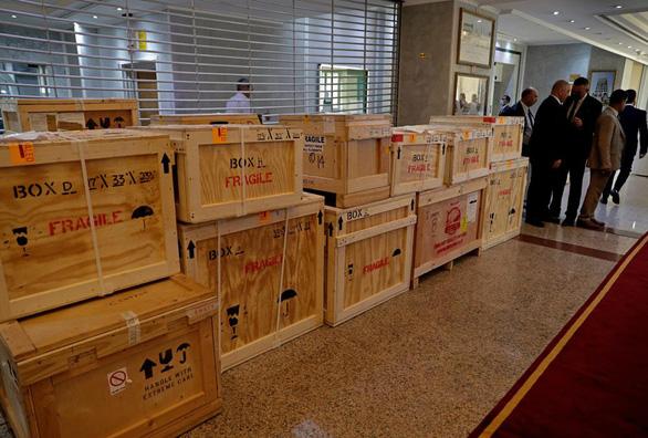 Mỹ trao trả hơn 17.000 cổ vật cho Iraq - Ảnh 1.