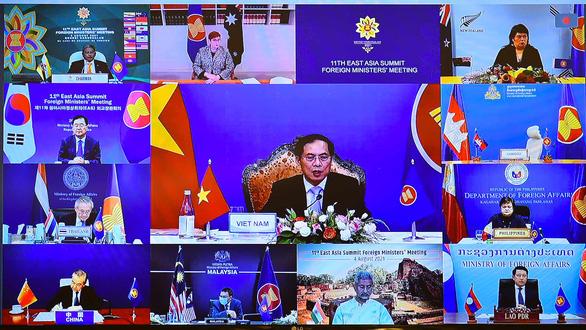 Biển Đông và COVID-19 phủ bóng Hội nghị Cấp cao Đông Á