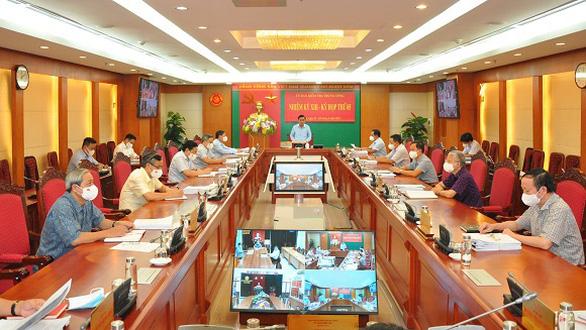 Khai trừ khỏi Đảng ông Nguyễn Hoài Nam, Lê Tấn Hùng, Tề Trí Dũng