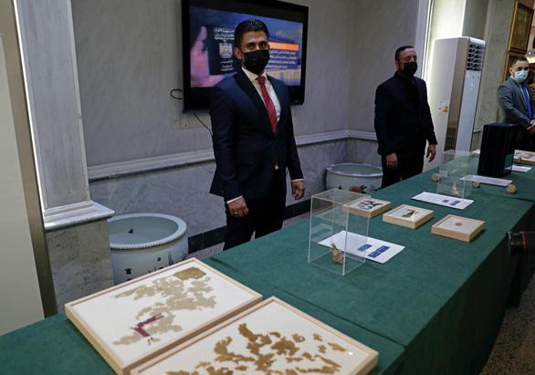 Mỹ trao trả hơn 17.000 cổ vật cho Iraq - Ảnh 2.