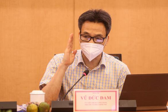 Phó thủ tướng Vũ Đức Đam: Hà Nội tiếp tục áp dụng chỉ thị 16 của Thủ tướng là đủ - Ảnh 2.