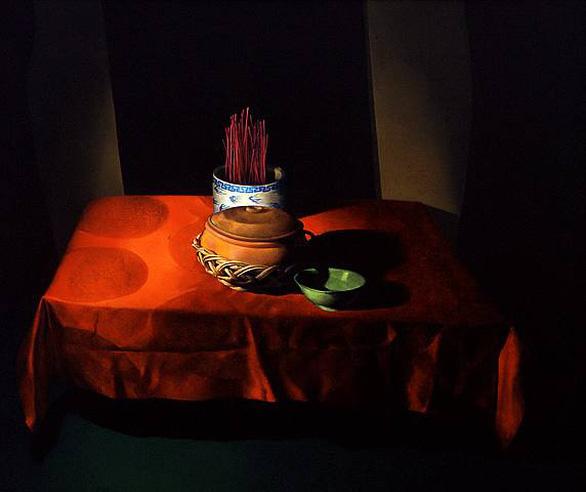 Họa sĩ Đỗ Quang Em qua đời: Ngọn đèn dầu đã tắt - Ảnh 3.