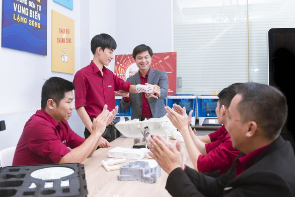 Nền tảng in 3D tự động đầu tiên tại Việt Nam - Ảnh 1.