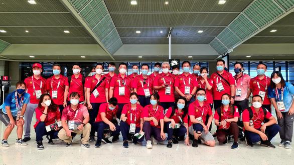 Đoàn thể thao Việt Nam lên đường về nước, chia tay Olympic Tokyo 2020 - Ảnh 3.