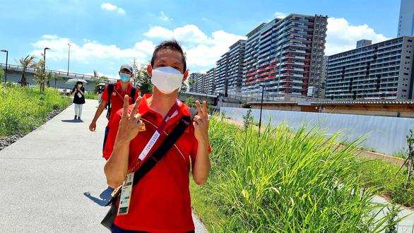 Đoàn thể thao Việt Nam lên đường về nước, chia tay Olympic Tokyo 2020 - Ảnh 2.