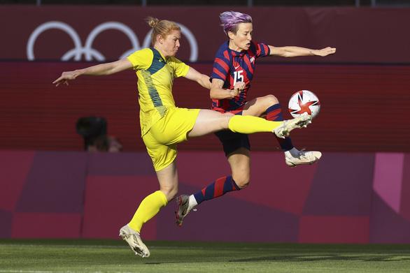 Thắng Úc 4-3, tuyển nữ Mỹ giành huy chương đồng Olympic Tokyo - Ảnh 2.