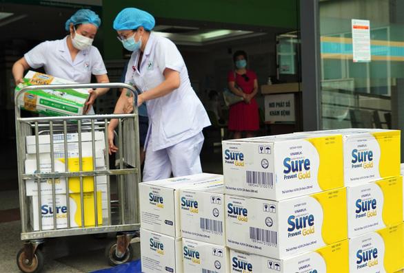 Vinamilk tiếp sức tuyến đầu chống dịch tại 50 bệnh viện trên cả nước - Ảnh 3.