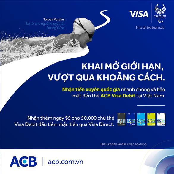 Hỏi - Đáp: Người thân ở nước ngoài muốn gửi tiền về tài khoản Visa Direct được không? - Ảnh 2.