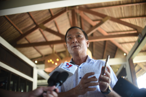 Ông Nguyễn Văn Dũng, giám đốc Sở Du lịch tỉnh Bình Định - Ảnh: LÂM THIÊN