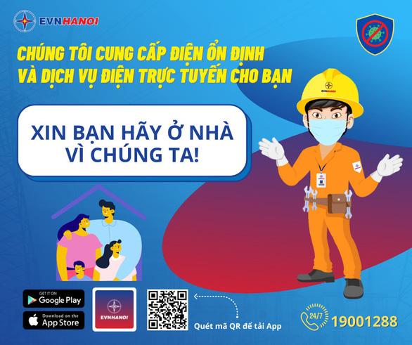 Hà Nội: Ngồi nhà làm dịch vụ điện trực tuyến, nhận quà trao tay - Ảnh 1.
