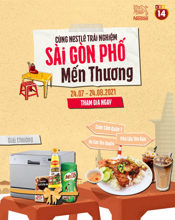 Mang ẩm thực đường phố Sài Gòn về nhà mùa dịch - Ảnh 1.